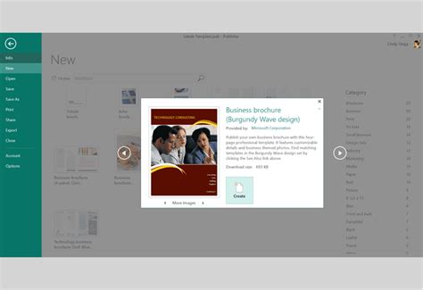 brochure template publisher free design templates and printables for microsoft