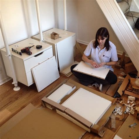 ikea flatpack furniture assembly services installation one of our flatpackassembly fitters working hard on an