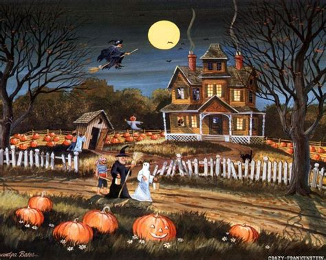 wallpaper cute house trick or treat halloween wallpaper 24469771 fanpop