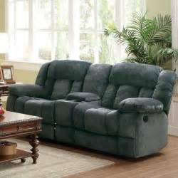 sofa loveseat recliner reclining sofa with center console from sears
