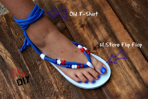 make your own sandals make your own flip flops gladiator style of diy