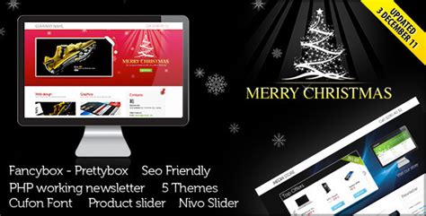 themeforest offers landing page for christmas offer or portfolio by ansonika