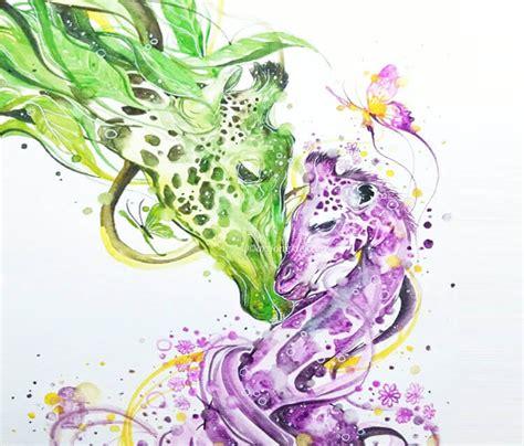 my precious watercolor by art jongkie no 663