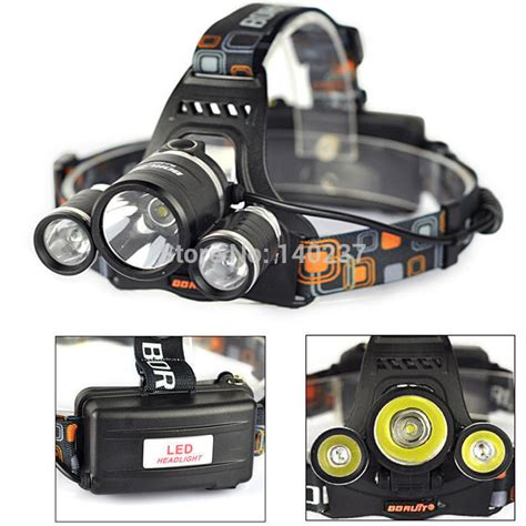 High Power Headl Cree Xm L T6 5000 Lumensboruit high power new rj 3000 5000lm 3x cree xm l t6 led headl light l for cing