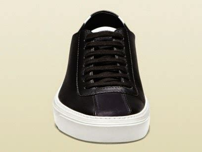 black and white gucci sneakers upscalelifestyle robin thicke wears gucci low top sneakers