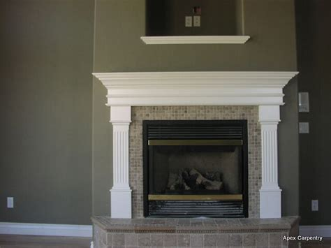 fireplace mantel pics fireplace mantels apex carpentry