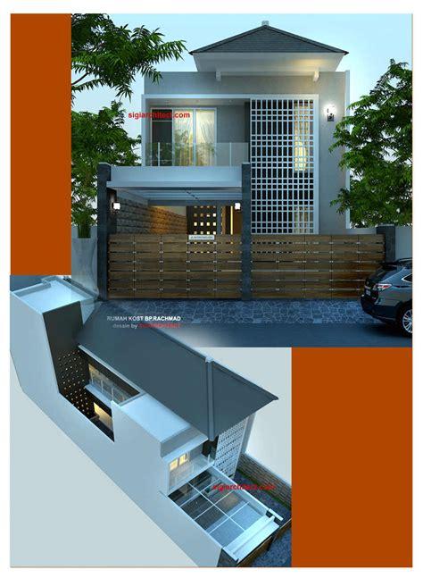 desain kamar kost 2 lantai desain rumah kost 2 lantai minimalis