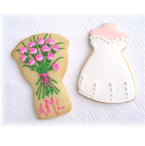 Bridal Shower Favors Cookies by Bridal Shower Cookie Favors
