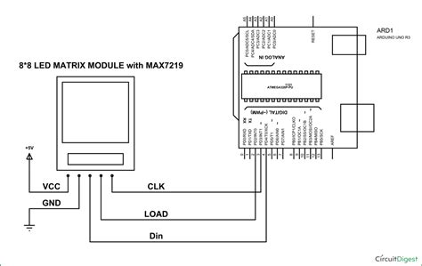rgb led matrix circuit diagram circuit and schematics