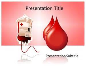 blood template donate blood powerpoint template at http goo