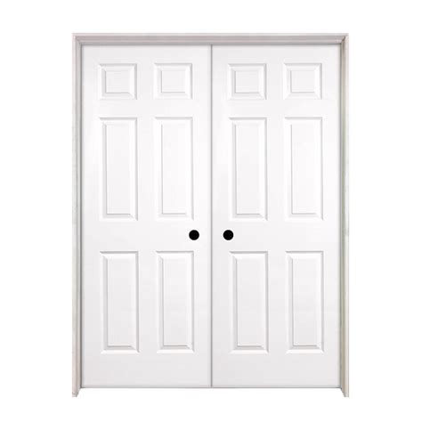 steves and sons interior doors steves sons 60 in x 80 in 6 panel smooth hollow