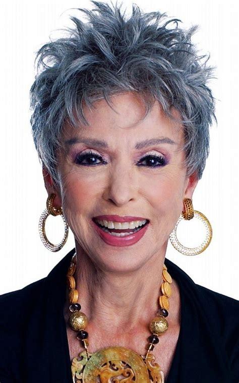 medium length grayish hairstyles for full figure hairstyles for women over 50 gray hair elle hairstyles