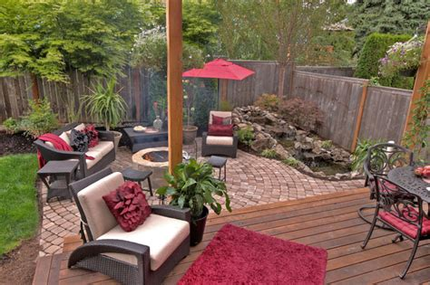 Patio Features Pit Water Feature Pergola Paver Courtyard
