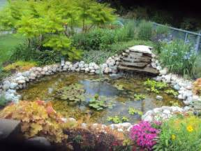 Backyard Pond Ideas Landscaping Pond Landscaping Ideas