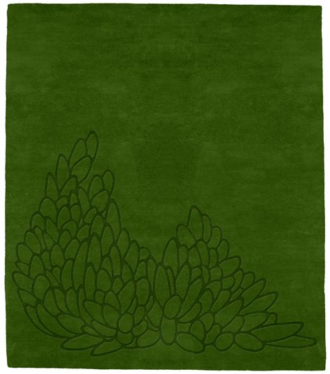 green leaf rug leaves moss rug from the green leaf rugs collection at modern area rugs