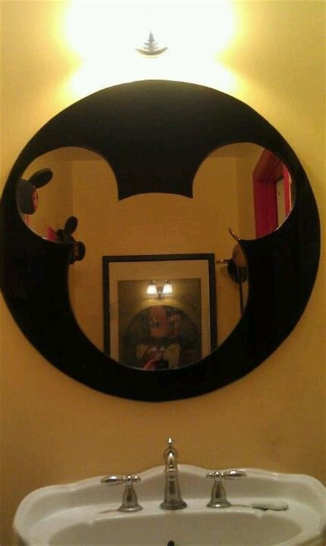 mickey mouse bathroom mirror pin by carrie murphy on mickey mouse bathroom pinterest