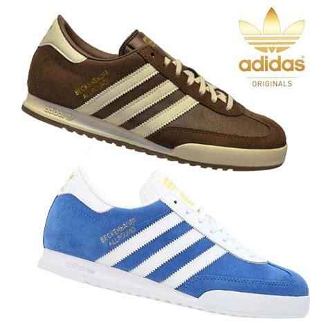 adidas originals mens trainers shoes beckenbauer brown