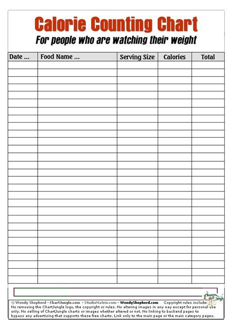 printable calorie intake journal printable veggie and fruit calorie chart trials ireland