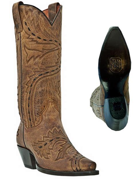 dan post sidewinder s leather western cowboy boots