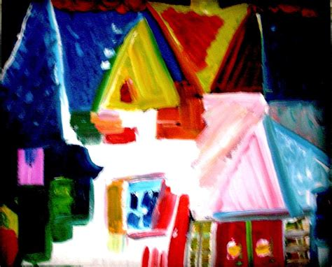 our house is a very fine house our house is a very very very fine house painting by laura grisham