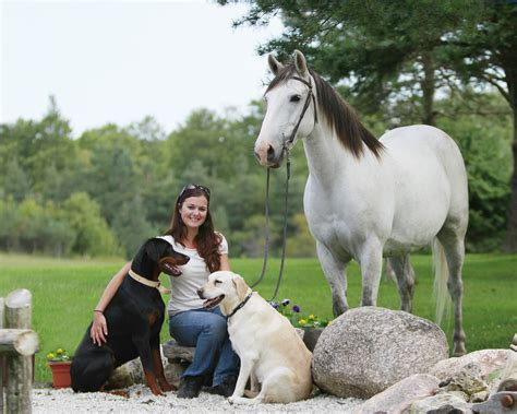 puppies and horses jaqueline and dogs and wendy webb photography studio
