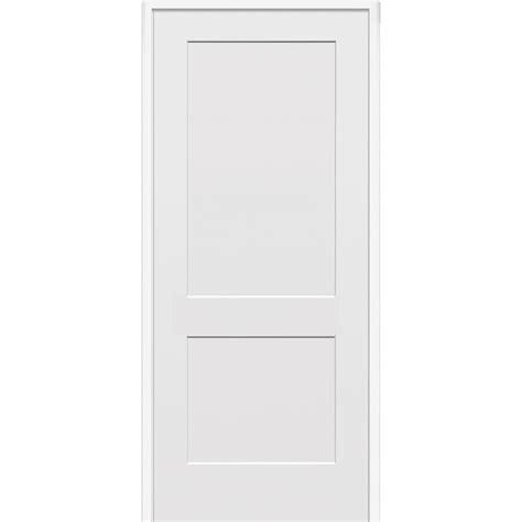 home depot 2 panel interior doors mmi door 33 5 in x 81 75 in primed 2 panel flat single interior door z022536l the home depot