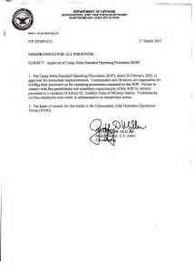 Operating Cover Letter by Sle Standard Operating Procedure Bomb Threat U S Department Of Images Frompo