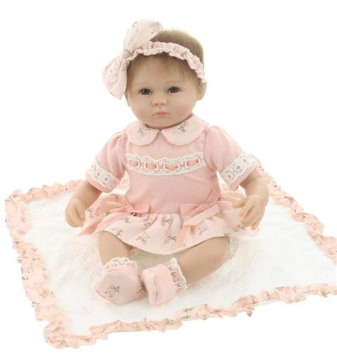 Sale Baby Doll Dewasa 1 sale 17inch reborn baby doll lifelike newborn doll so and lovely with beautiful pink