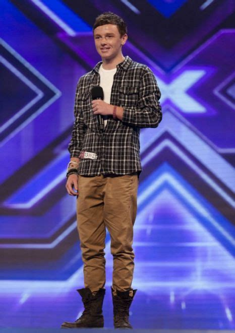 ed sheeran x factor expelled teen bradley johnson wows x factor panel with ed