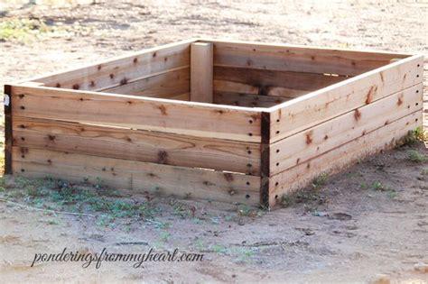 Garden Boxes Diy by Easy Diy Raised Bed Garden Boxes Garden Ideas