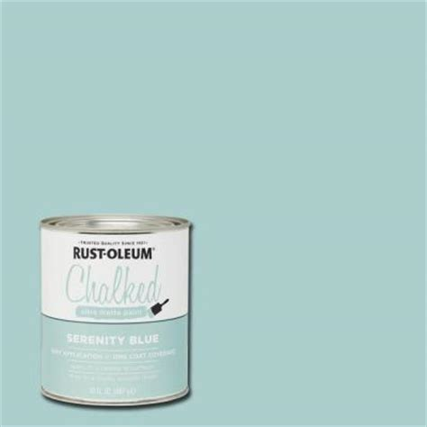 serenity blue paint rust oleum specialty 30 oz ultra matte interior chalked