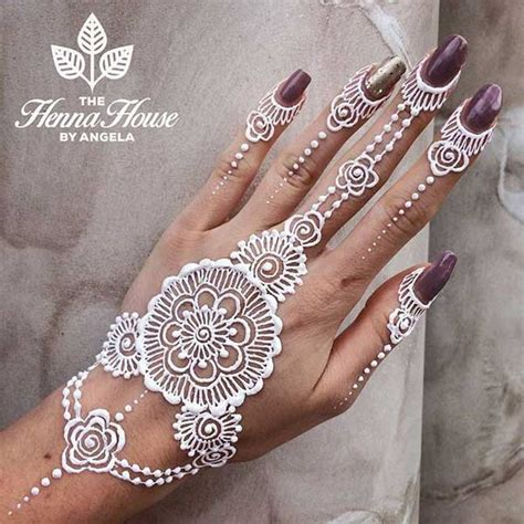 white henna tattoo art white henna designs 2017 new tattoos
