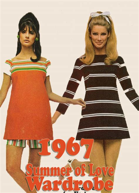 1960s Wardrobe by 1967 Summer Of Wardrobe Inspiration Glamourdaze