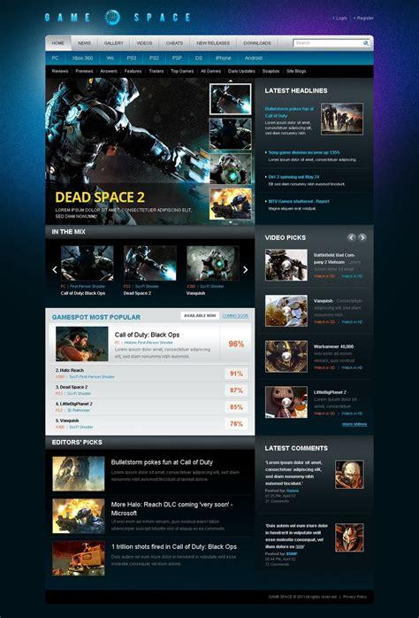 game design websites free games wordpress theme 40790