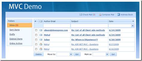 asp net mvc 4 the asp net site devexpress mail demo deprecated asp net team blog