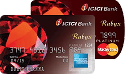 Icici Bank Gift Card - icici bank rubyx credit cards apply online 3000 annual fees rubique