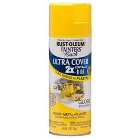 home depot paint yellow rust oleum painter s touch 2x 12 oz gloss sun yellow