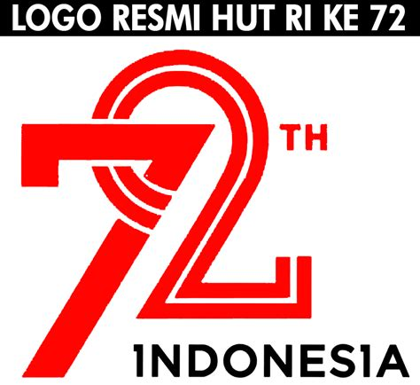 Kaos Tshirt Hut Ri Ke 72 Agustus 1 Putih logo tema resmi hut ri ke 72 senkom mitra polri sidoarjo
