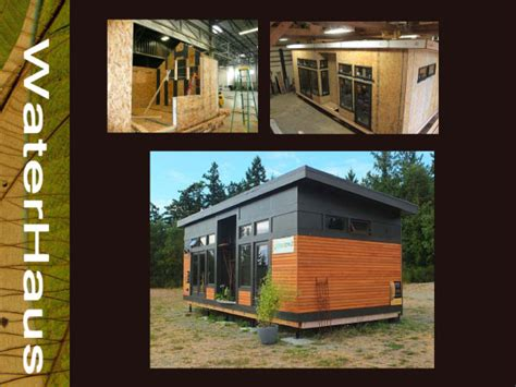 tiny house prints waterhaus greenpod products