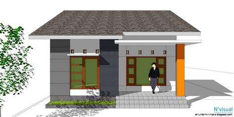 desain gapura sederhana 60 desain rumah modern yang sederhana 5 desain