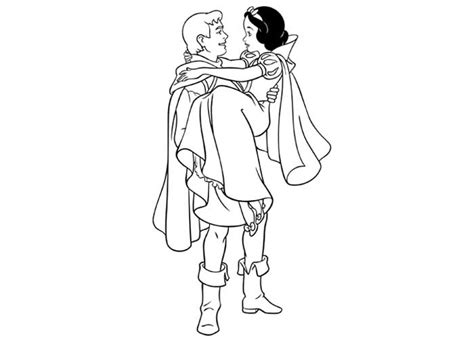 Snow White And Prince Coloring Pages Prince Coloring Pages