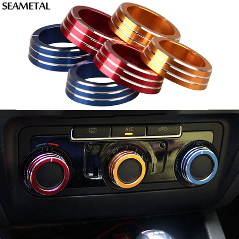 for vw volkswagen golf 6 mk6 gti 2009 2014 car air conditioning knob cover interior decoration