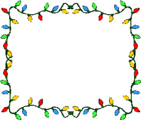 free christmas lights clipart clipart best
