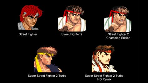 from street fighter main character name how street fighter s ryu changed over the years kotaku