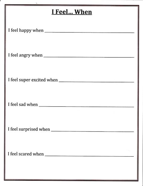 self control worksheets all worksheets 187 self control worksheets printable