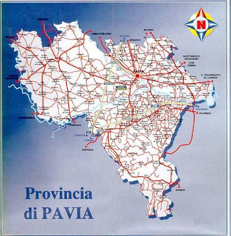 cartina provincia pavia cava manara dove siamo