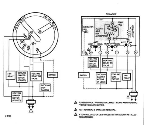 lennox mercury thermostat wiring diagram 40 wiring