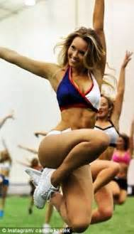 camille kostek patriots cheerleader view image is rob gronkowski s girlfriend leaving him for american