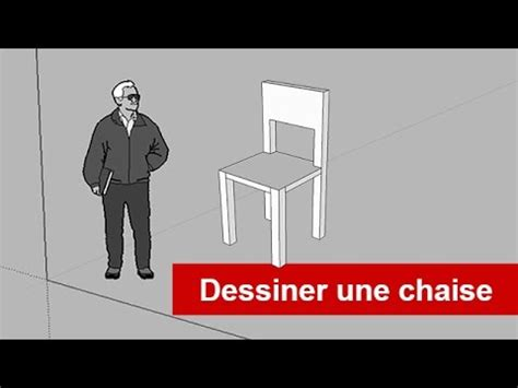 une chaise sketchuppro dessiner une chaise youtube