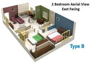 2 Bedroom House East Overview Raghavendra S Panchajanya Raghavendra Neelima